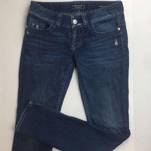 Guess Women's Daredevil Skinny Jeans Waist 27in